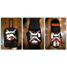 Back Pack for DJI Phantom 2 or 3 with pulling trolley model 1