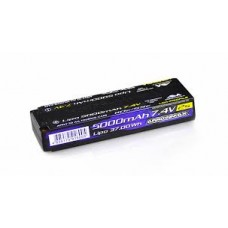 ARROWMAX Lipo 5000mAh 2S TC Low Profile - 7.4V 55C Continuos 110C Burst