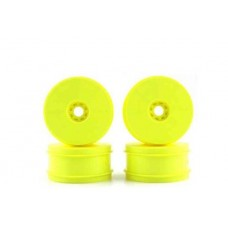 """Speedline 8"" Buggy Wheels for 1/8 scale buggy - YELLOW DER-SB-8Y"