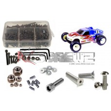 RC Screwz for Associated T3 RTR/Factory Stainless Steel Screw Kit