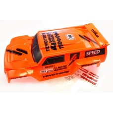 Traxxas 1/10 Slash 2WD Robby Gordon DAKAR EDITION ORANGE BODY 4x4 Hummer