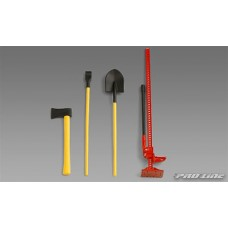 Pro-Line Scale Accessory 2 (High Lift Jack, Pry Bar, Shovel, Axe)
