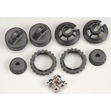 Traxxas GTR Shock Caps And Spring Retainers Revo, E-Revo, Summit