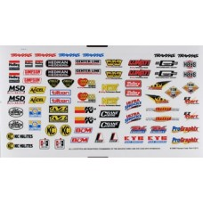 Traxxas Sponsor Decal Sheet