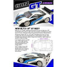 BLITZ 1/8 GT (1.2mm) with Wing 2pcs