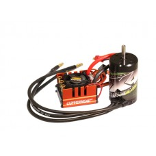 VX4R.45 4-Pole 4500kv 550 class brushless motor 5.00mm shaft with Copperhead-R ESC