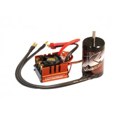VX4R.51 4-Pole 5150kv 550 class brushless motor 5.00mm shaft with Copperhead-R ESC