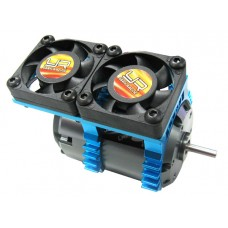 Yeah Racing Super Light Twin Fan Heat Sink w/Cooling Fan 2 Sets for 540 Motor
