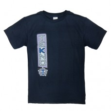 Tekno RC T-Shirt vertical design navy blue