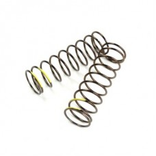 TKR8766 – LF Shock Spring Set front, 1.6×9.7, 4.47lbin, 75mm, yellow